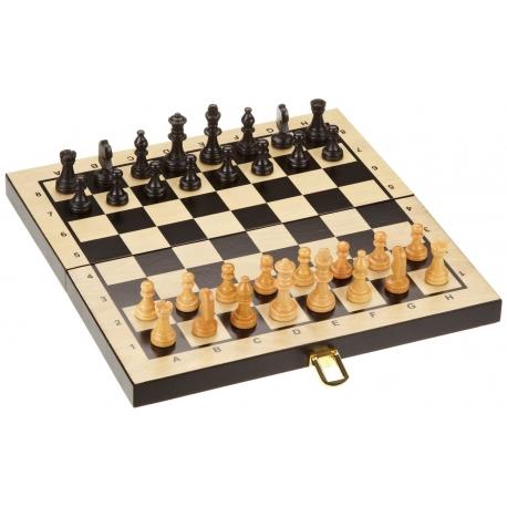 Kassette Schach-Backgammon-Dame
