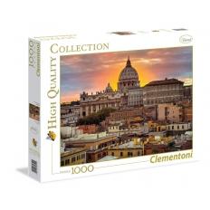 Rom-Vatikan bei Sonnenuntergang