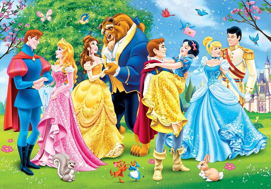 Disney Prinzessinnen Party Amp Tanz 2x 20 Teile Clementoni