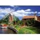 Malerische Windmühle