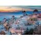 Abend über Santorini