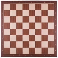 Schachbrett Mahagoni / Ahorn [50RFK]