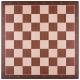 Schachspiel Advanced Mahagoni klein