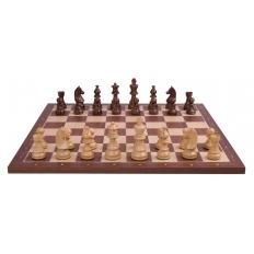 Schachspiel Advanced Mahagoni - 45cm