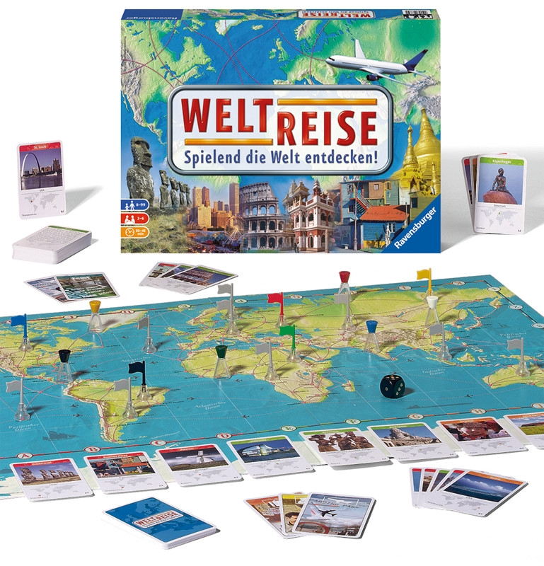 Weltreise Spielanleitung