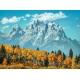 Grand Teton in fall
