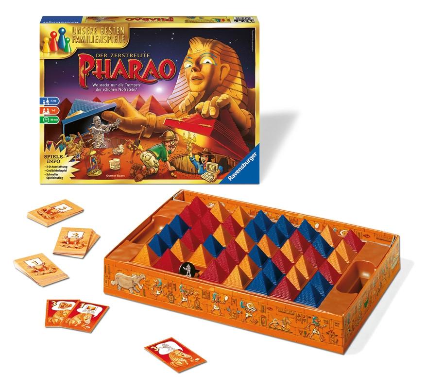Der Zerstreute Pharao Spielanleitung