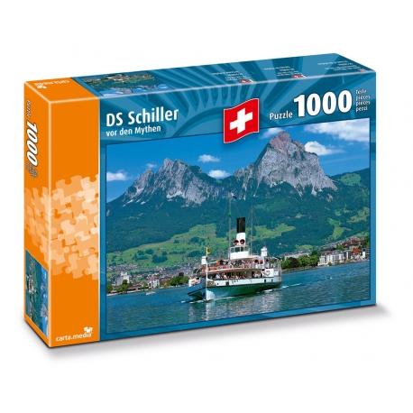 """Dampfschiff """"Schiller"""""""