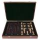 Schachfiguren Camelot Padouk - 95mm