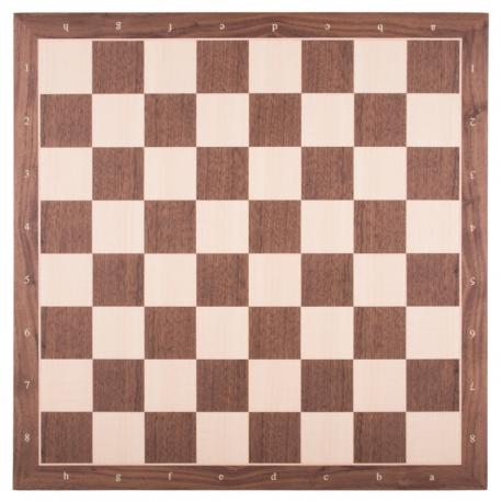 Schachbrett Nussbaum / Ahorn [55RFK]