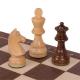 Schachspiel Advanced Nussbaum klein
