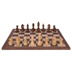 Schachspiel Advanced Nussbaum - 50cm