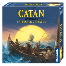 Catan Erweiterung - Entdecker & Piraten