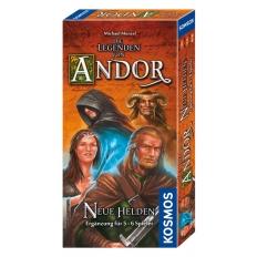 Die Legenden von Andor Ergänzung - Neue Helden