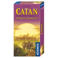 Catan Ergänzung 5-6 Spieler - Händler & Barbaren