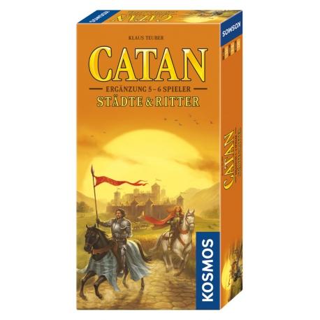 Catan Ergänzung 5-6 Spieler - Städte & Ritter