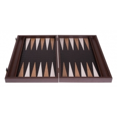 Backgammon Board Leatherette - 47 x 60cm