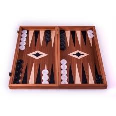 Backgammon Board Classic Mahagoni - 47 x 51cm