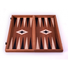 Backgammon Board Classic Mahagoni - 38 x 38cm