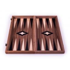 Backgammon Board Classic Nussbaum - 47 x 51cm