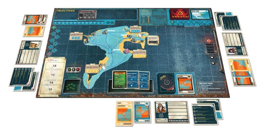 Z-Man Games Pandemic Legacy Schwarz Season 2 DE