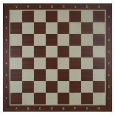 Schachbrett Mahagoni / Ahorn [58TEK]