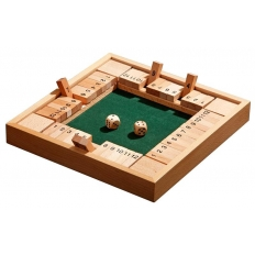Shut the Box 4er Variante