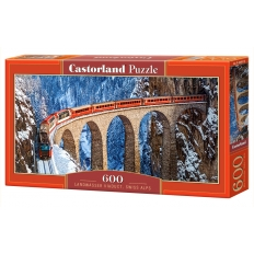 Landwasser Viaduct - Swiss Alps