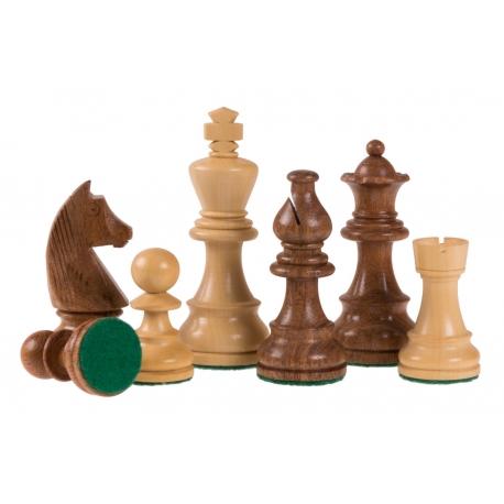 Schachfiguren German Staunton Acacia - 95mm