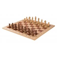 Turnier Schachspiel Ahorn - 48cm