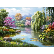 Romantik am Teich