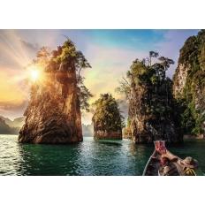 Three rocks in Cheow - Thailand