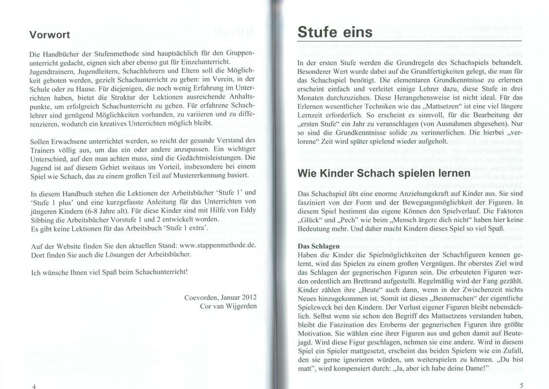Beispielseite von Trainerbuch Stufe 1