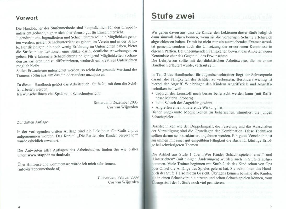 Beispielseite von Trainerbuch Stufe 2