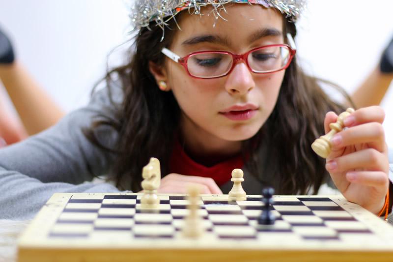 Schach: ein Spiel für Mädchen und Jungen!