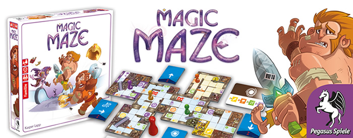 Magic Maze Brettspiel