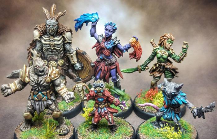 Figuren aus Gloomhaven (Quelle: imgur.com)