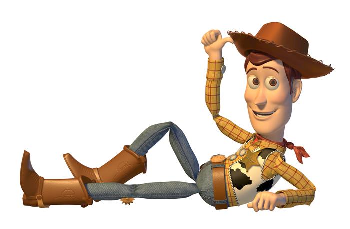 Woody und Gesellschaftsspiele benötigen keine Spezialeffekte.