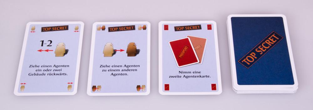 Top Secret Karten verschärfen Heimlich & Co.