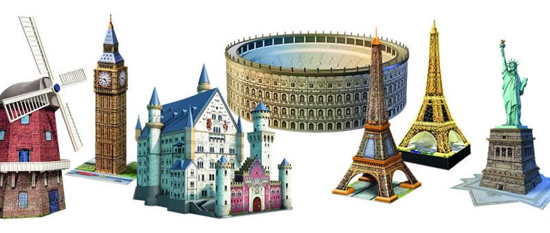 3D Puzzles von Ravensburger
