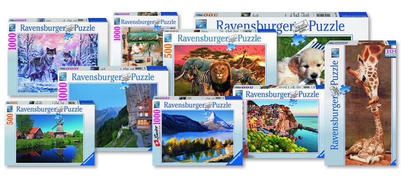 Klassische 2D-Puzzles von Ravensburger