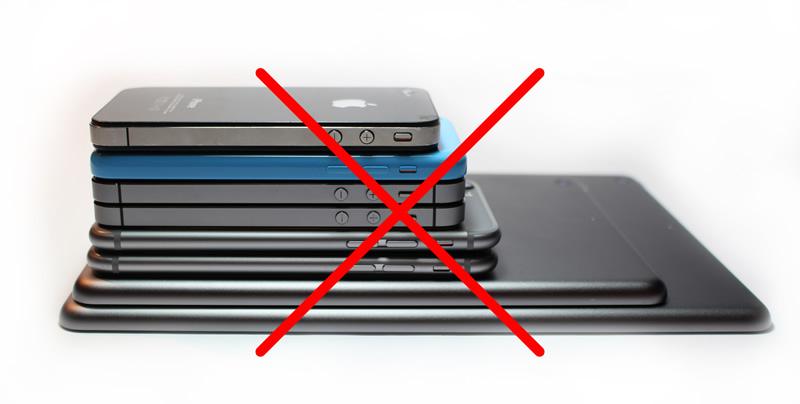 Smartphones gehören weg!
