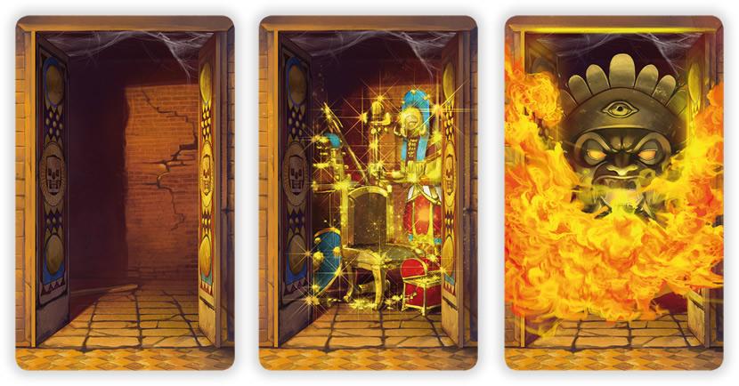 Die drei verschiedenen Kammern.