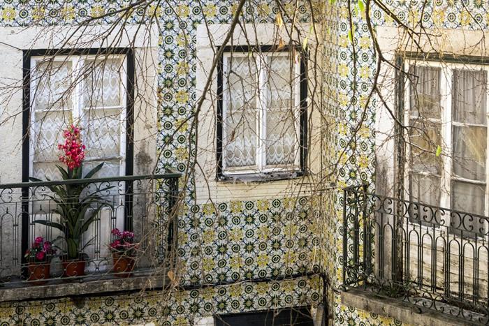 Azulejos in Portugals Strassen