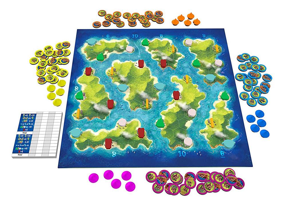 Blue Lagoon Spielbrett