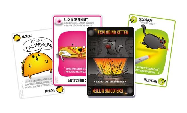 Exploding Kittens Karten