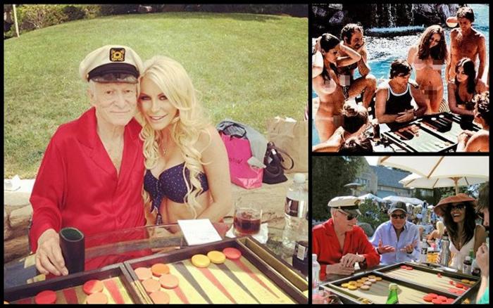 Hugh Hefner veranstaltete viele Backgammon Partys (Quelle: http://theprivatecyclist.blogspot.com/2013/06/fireworks-in-fitzroy-as-battle-unfolds.html)