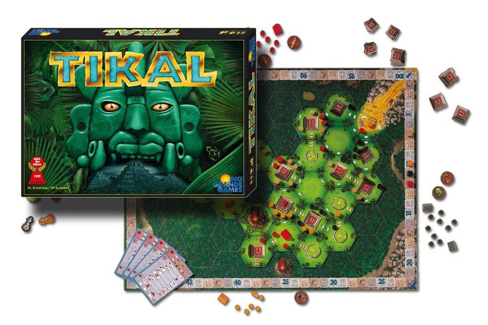 Tikal Spielmaterial (Quelle: Rio Grande Games)