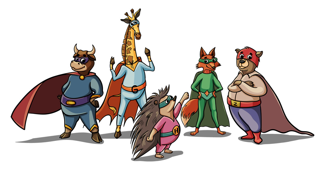 Die wahrscheinlich coolste Superhelden Gruppe!
