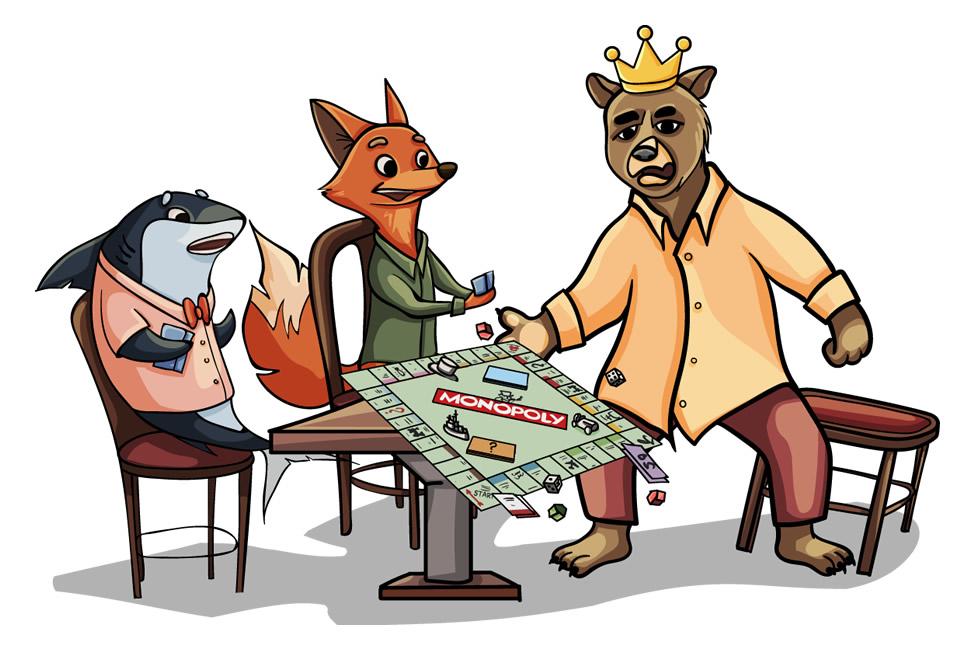 Zari hat genug von dieser Monopoly-Runde.